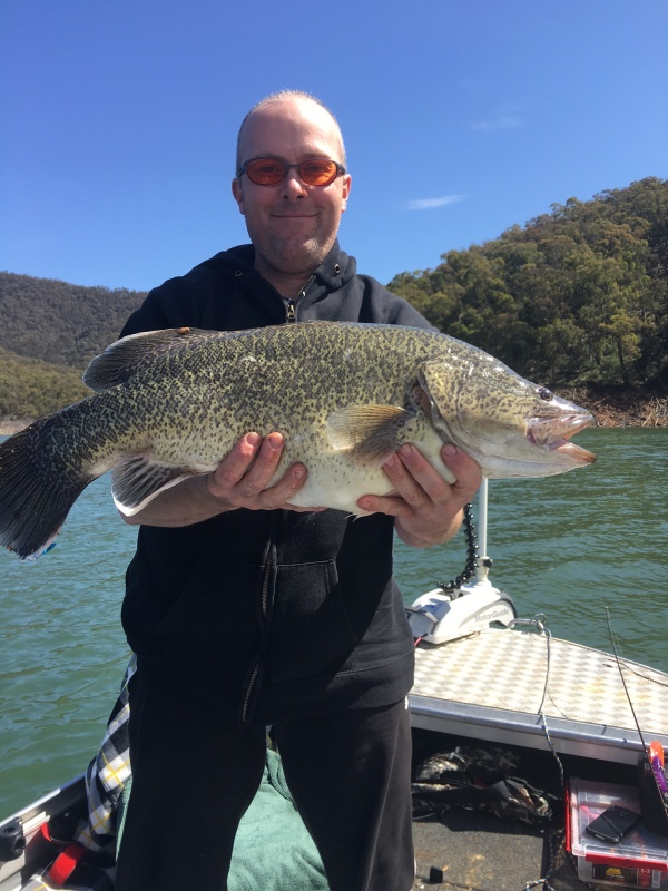Lake eildon fishing report october 2016 for Lake murray fishing report